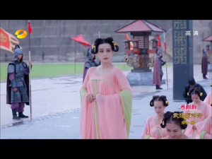Did anyone notice that Bingbing's eyebrows were uneven throughout this whole scene?
